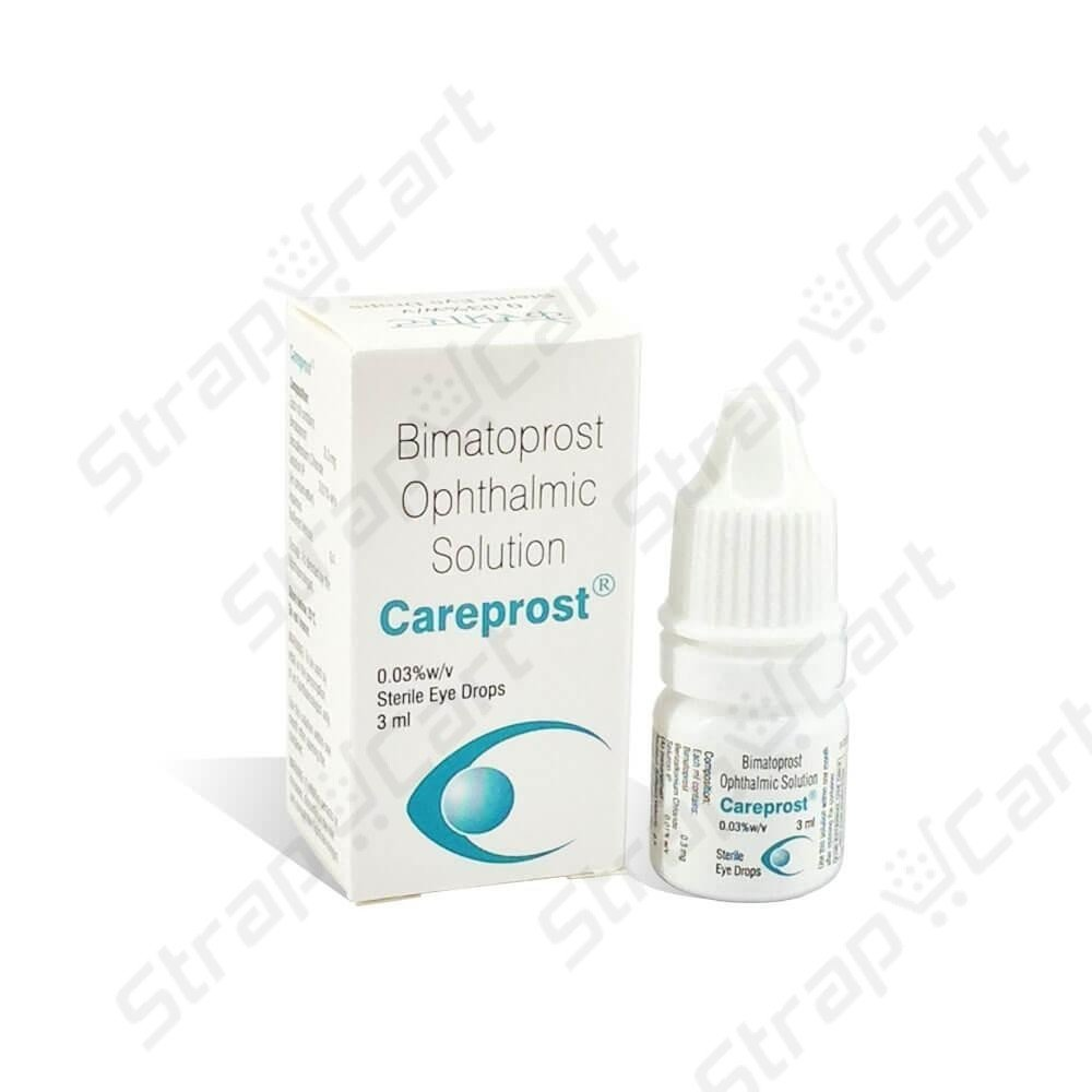 Careprost® Eye Drops 0.03% (Bimatoprost) Online at Best Price | Strapcart