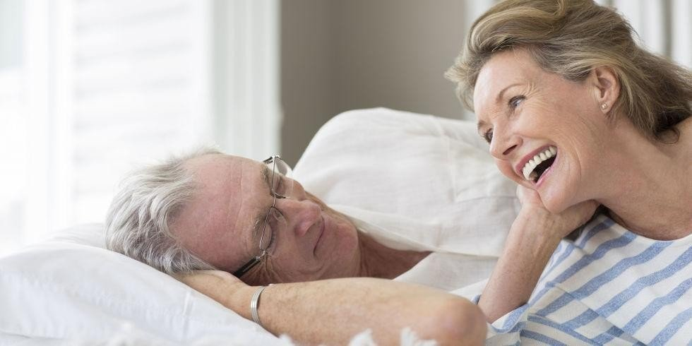 Older women still have active sex lives
