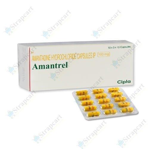 Amantrel 100Mg capsule