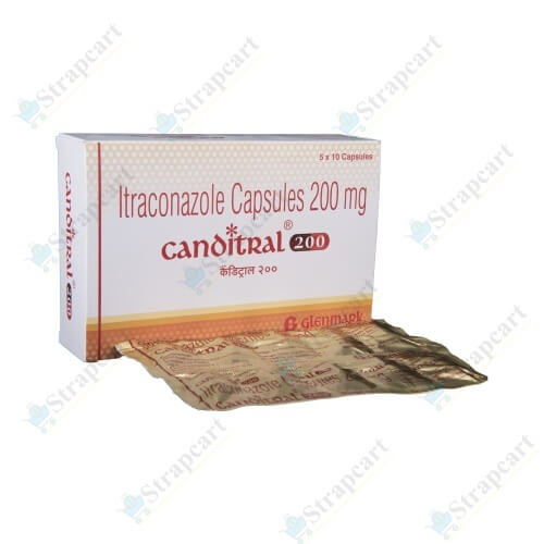 Canditral 200Mg capsule