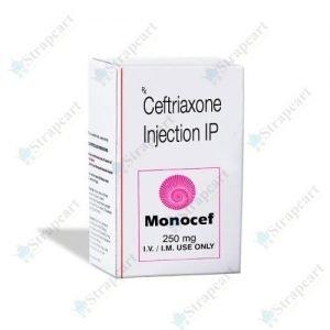 Monocef 250Mg Injection