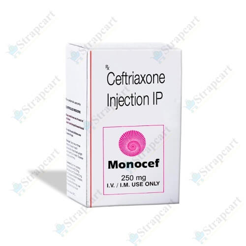 Monocef 250Mg Injection