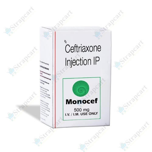 Monocef 500Mg Injection
