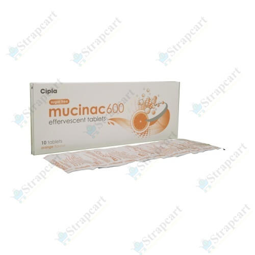 Mucinac 600Mg Effervescent