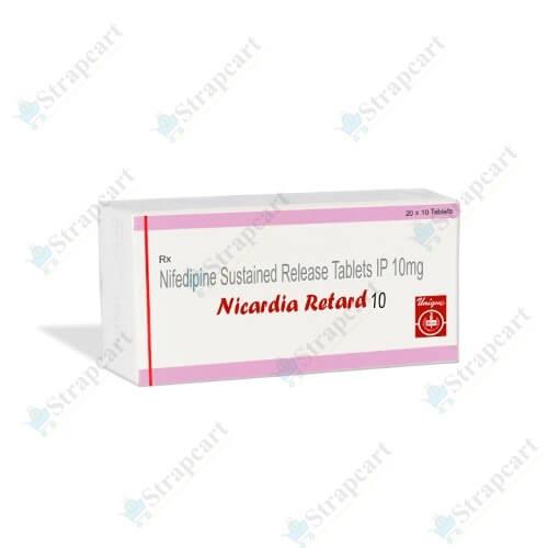 Nicardia Retard 10Mg