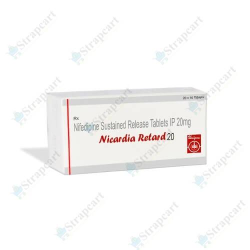 Nicardia Retard 20Mg