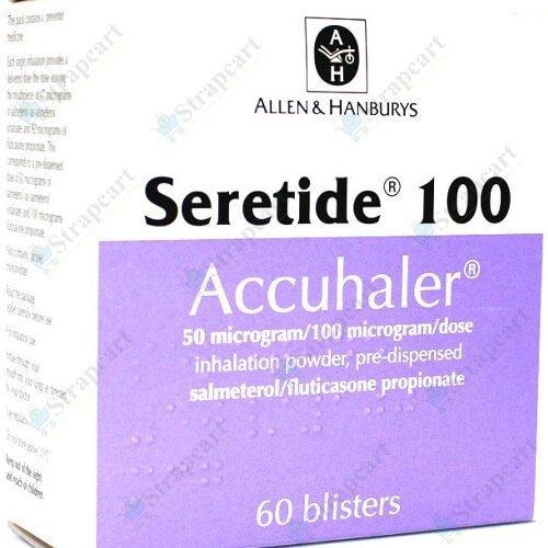 Seretide 50Mcg/100Mcg Accuhaler