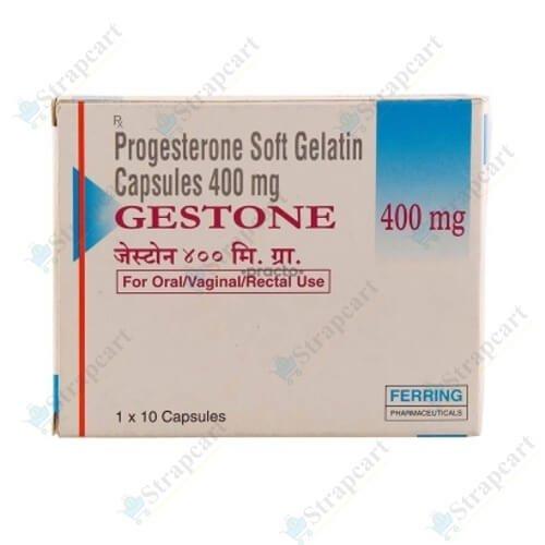 Gestone 400 Soft Gelatin Capsule