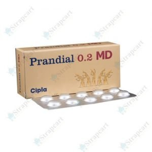 Prandial 0.2Mg MD
