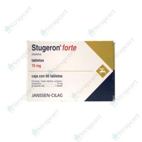 Stugeron Forte 75Mg