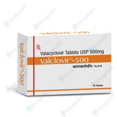 Valclovir 500Mg