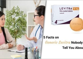 5 Facts on Generic Levitra Nobody will Tell You About