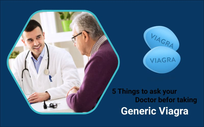 5 Things to know about Generic Tadalafil